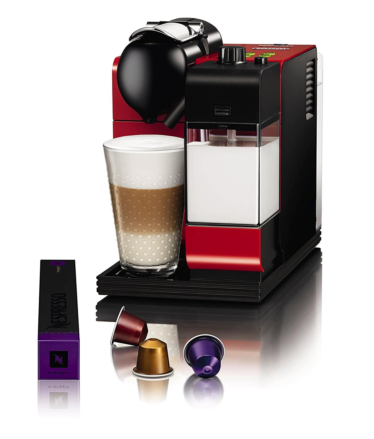 delonghi lattissima cafeti re nespresso test et avis. Black Bedroom Furniture Sets. Home Design Ideas
