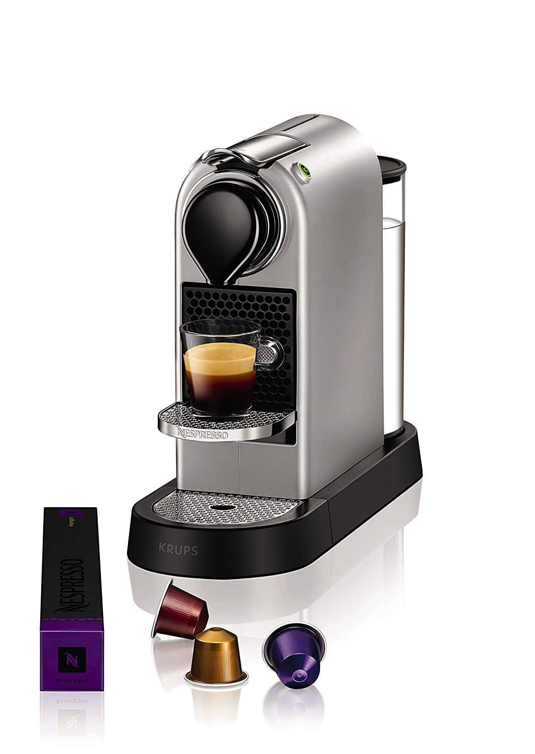 krups citiz cafeti re nespresso machine espresso. Black Bedroom Furniture Sets. Home Design Ideas