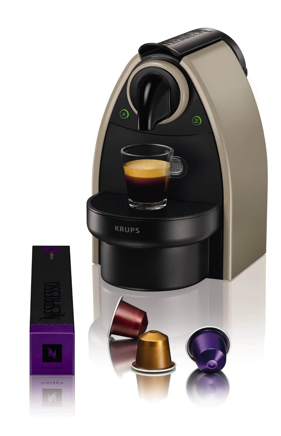 krups essenza cafeti re nespresso machine espresso test et avis. Black Bedroom Furniture Sets. Home Design Ideas